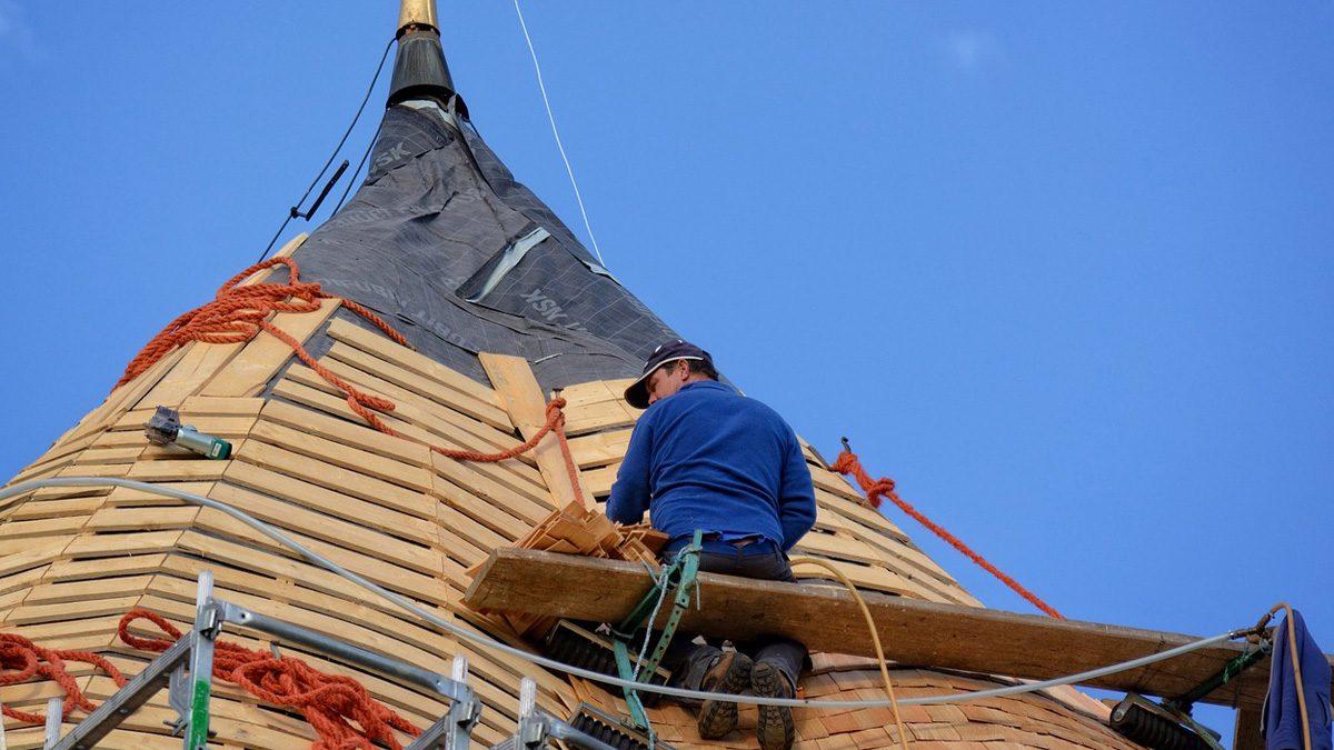 Der Beruf des Dachdeckers